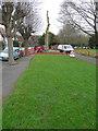 TR2236 : Tree felling, Radnor Park by John Baker