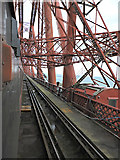 NT1378 : Crossing the Forth Bridge by Thomas Nugent