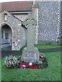 TG3407 : Strumpshaw War Memorial by Adrian S Pye