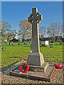 TG3516 : Horning War Memorial (including Crostwight) by Adrian S Pye