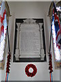 TG4124 : Hickling World War One Memorial by Adrian S Pye