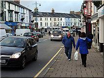 SH5638 : Stryd Fawr/High Street, Porthmadog by John Lucas