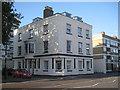 SU4211 : Handsome old house, Bernard Street, Southampton by Robin Stott
