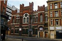 SK3587 : Sheffield: former Salvation Army Citadel, Cross Burgess Street by Christopher Hilton
