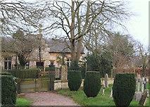 SK9239 : Church Gates, Belton, Lincs. by David Hallam-Jones