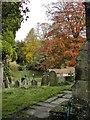 SE7290 : St Mary's Church, Lastingham, Yorkshire by Bernard Sharp