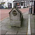 SO7225 : Old trough in the centre of Newent by Jaggery