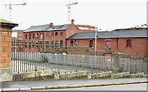 J3374 : Development site, Stephen Street, Belfast - December 2015(2) by Albert Bridge