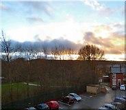 SJ9594 : The last sunrise of 2015 by Gerald England
