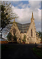 TQ2689 : Anglican chapel, East Finchley Cemetery by Julian Osley