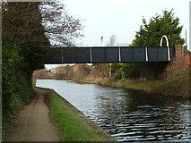 SJ3494 : Bridge K, Leeds and Liverpool Canal by Mr Biz