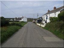 SW6522 : Lane to Gunwalloe by Shaun Ferguson