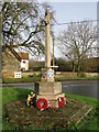 TM0179 : Blo Norton War Memorial by Adrian S Pye
