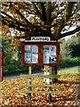 TM2147 : Playford, notice board by Bikeboy