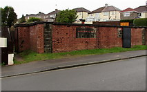 ST3090 : Former air raid shelter, Graig Park Road, Malpas, Newport by Jaggery
