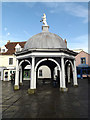 TM3389 : The Buttercross, Bungay by Adrian Cable
