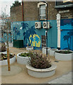 "TQ3388 : ""Tropical Tottenham"" mural, Seven Sisters by Julian Osley"
