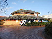 ST8558 : Adcroft Surgery, Trowbridge by M J Richardson