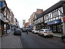 SJ5441 : High St, Whitchurch by John Lord