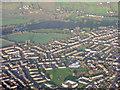 ST6468 : West Keynsham from the air by M J Richardson