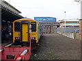 SJ3350 : Wrexham Central Railway Station by John Lucas