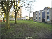 SJ9300 : Hospital Flats by Gordon Griffiths