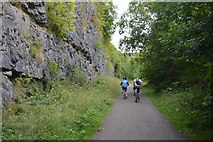 SK1272 : Cyclists, The Monsal Trail by N Chadwick
