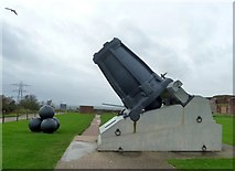 SU6007 : Fort Nelson - Mallet's Mortar by Rob Farrow