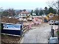 TQ2694 : Building Oakwell Grange, Whetstone, January 2016 by Christine Johnstone
