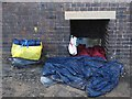 SK3688 : Homeless man's nest by Neil Theasby