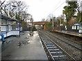 SJ9087 : Woodsmoor Station by Gerald England