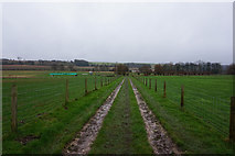TA0880 : Bridleway leading to Manor Farm by Ian S