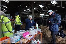 TA0779 : Manor Farm, checkpoint 3 on the Filey Flyer by Ian S