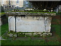 TF4609 : Joseph Medworth (1752 to 1827)  - A tomb chest in St Peter's churchyard, Wisbech by Richard Humphrey