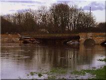 SE4843 : Tadcaster's Broken Bridge by Matthew Hatton