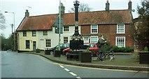 TG0738 : Houses on Obelisk Plain, Holt by Derek Harper