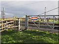 TQ7985 : Blocked crossing, Hadleigh Park by Roger Jones