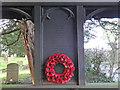 TG1506 : Little Melton WW2 Memorial in the lychgate by Adrian S Pye