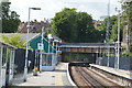 TQ4109 : Line to London, Lewes Station by N Chadwick