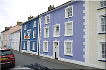 SN4562 : Coloured Houses of West Wales (12) by Nigel Mykura