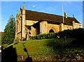 ST8599 : South side of St George's Church, Nailsworth by Jaggery