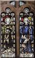 SK7958 : Stained glass window, St Wilfred's church, North Muskham by Julian P Guffogg