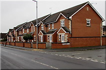 SO5140 : Robin's Terrace, Hereford by Jaggery