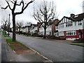 TQ3794 : Semi-detached houses, College Gardens, Chingford by Christine Johnstone