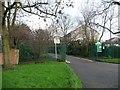 TQ3793 : Entrance to Ridgeway Park, Chingford by Christine Johnstone