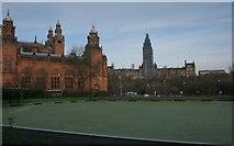 NS5666 : Kelvingrove Museum and Glasgow University by Richard Sutcliffe