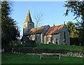 SK7160 : St Radegund's Church, Maplebeck by Neil Theasby