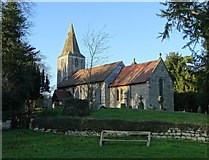 SK7160 : St Radegund's Church, Maplebeck by Neil Theasby