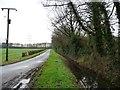 SE6227 : Full drain alongside Chester Court Road by Christine Johnstone