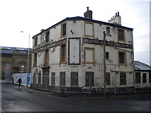 SE3320 : Mortal remains of the Wakefield Arms by Richard Vince